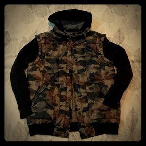 Matix camo Asher fleece jacket